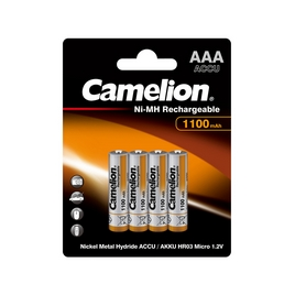 Аккумулятор CAMELION Lockbox Rechargeable Ni-MH NH-AAA1100BP4