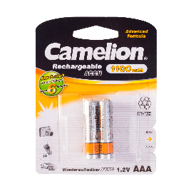 Аккумулятор CAMELION Rechargeable Ni-MH NH-AAА1100BP2