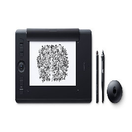 Графический планшет Wacom Intuos Pro Medium Paper Edition R/N (PTH-660P) Чёрный
