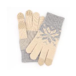 Зимние перчатки Xiaomi для сенсорных экранов Бежевые