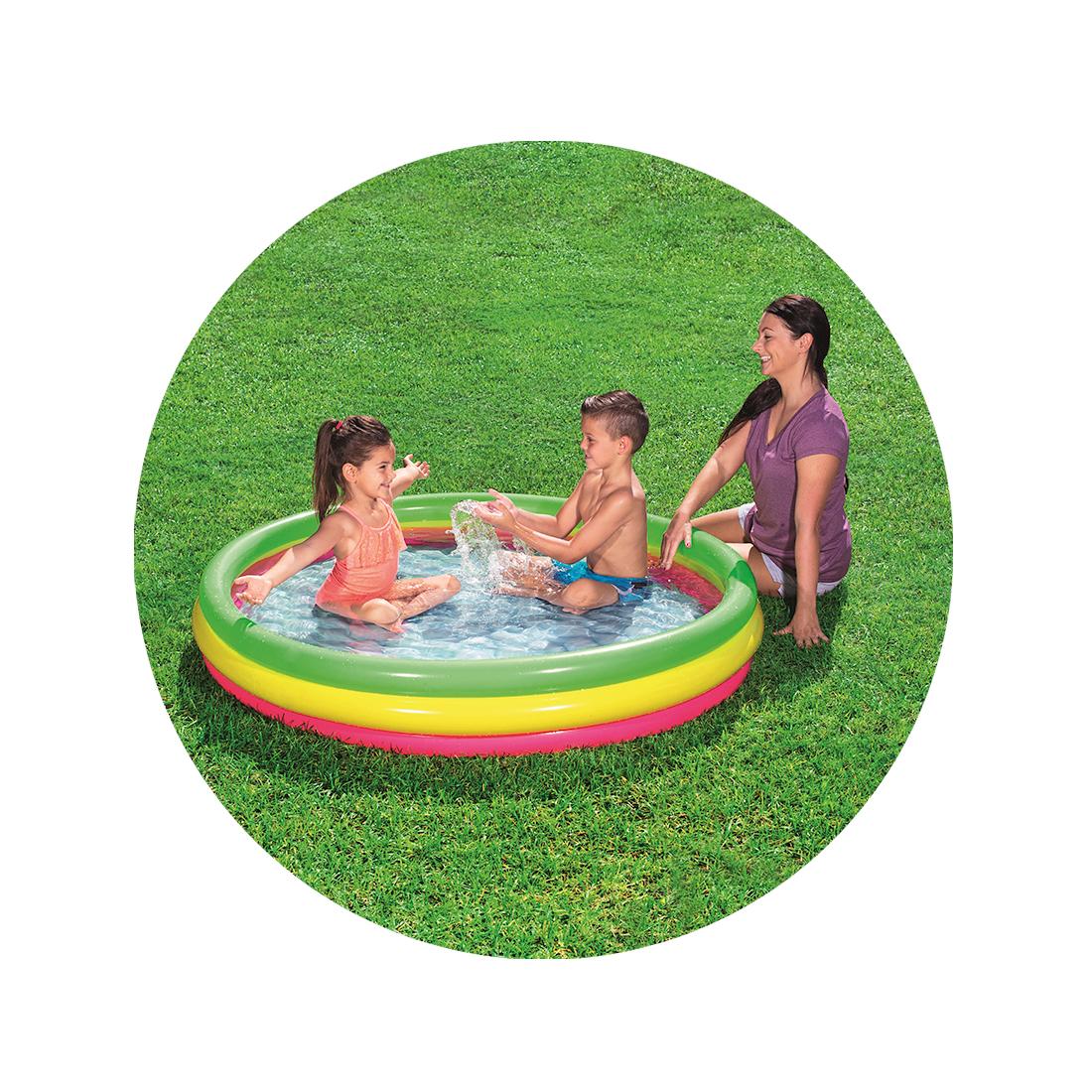 Надувной бассейн детский Bestway 51103