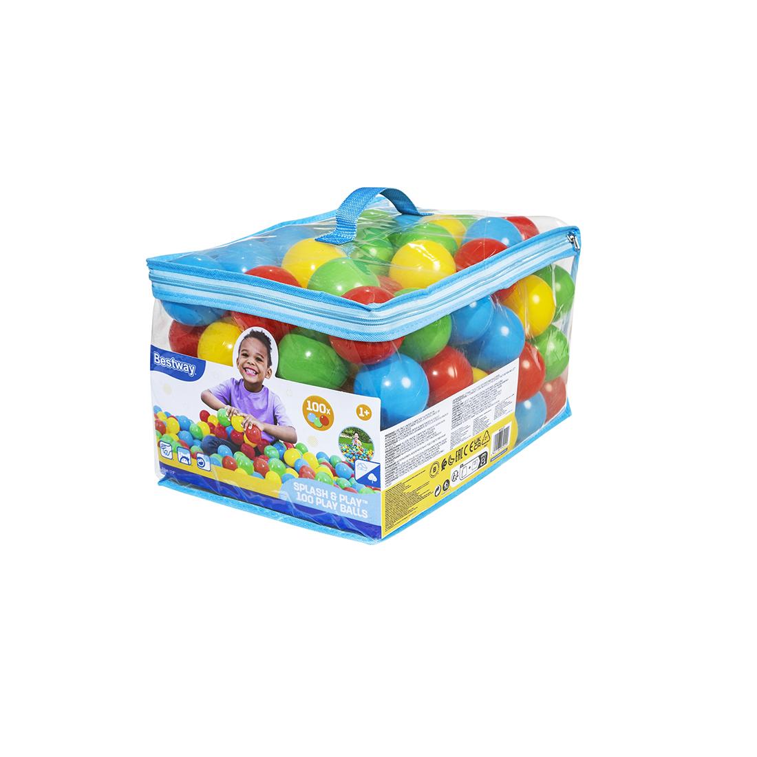 Шарики для бассейнов Bestway 52027 (в упаковке 100шт)