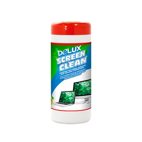 Чистящие салфетки Delux Screen Clean 100