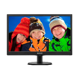 "Монитор 19.5"" PHILIPS 203V5LSB26/62 Чёрный"