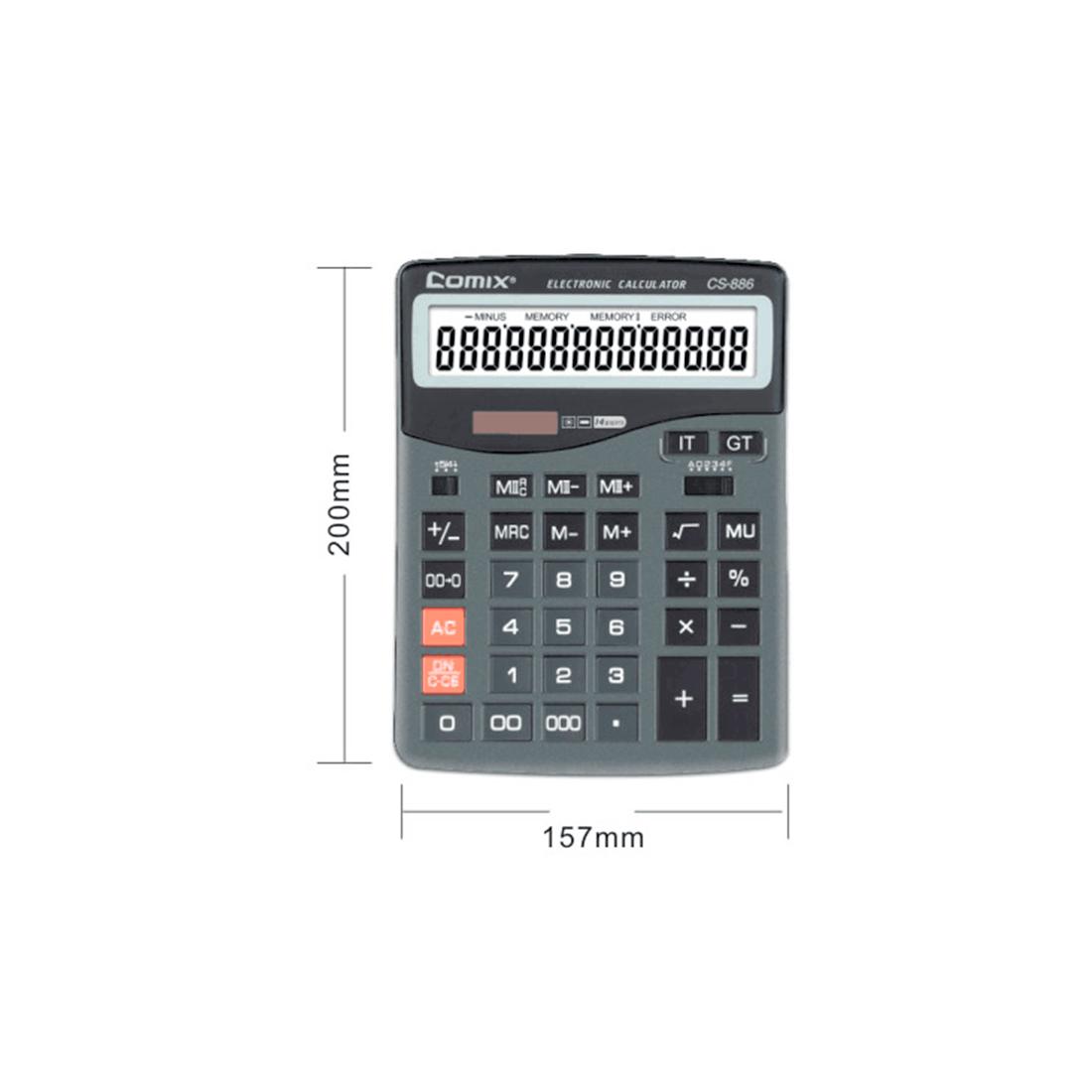 Калькулятор Comix CS-886, бухгалтерский 16 разряд.