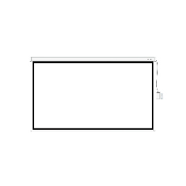 "Экран моторизированный (с пультом Д/У) Deluxe DLS-ERC240x135W (94""х53""), Ø - 108"", 16:9"