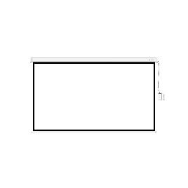 """Экран моторизированный (с пультом Д/У Deluxe DLS-ERC265х149W (104""""х58""""), Ø - 119"""", 16:9"""
