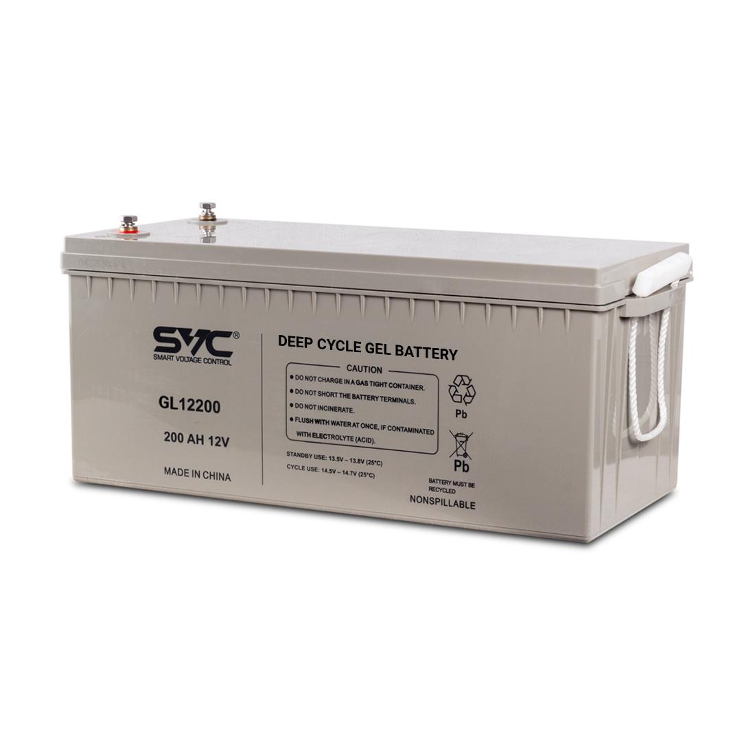 Аккумуляторная батарея SVC GL12200 12В 200 Ач