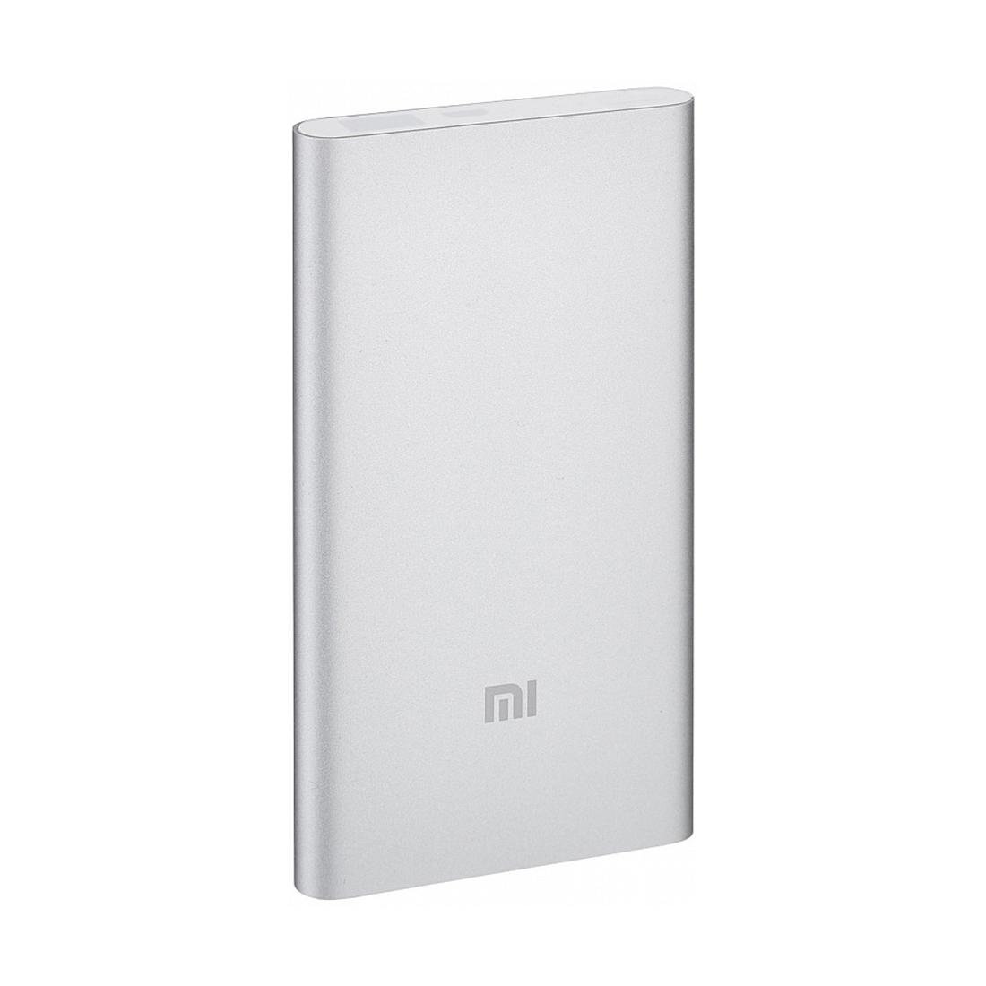 Портативное зарядное устройство Xiaomi Mi Power Bank 5000mAh V2 (2018) Серебристый