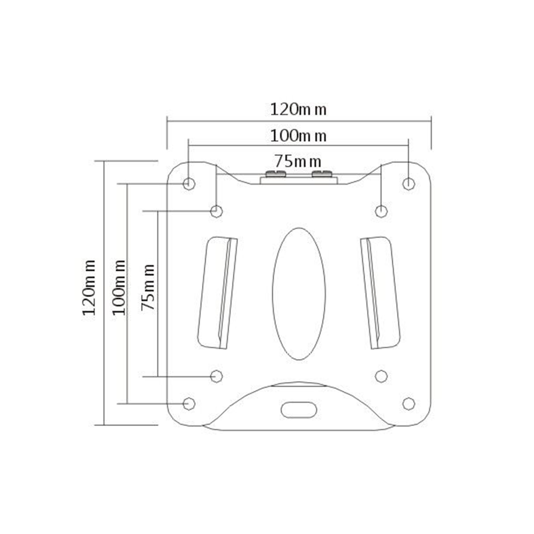Кронштейн Brateck LCD-203 для ТВ и мониторов, 13