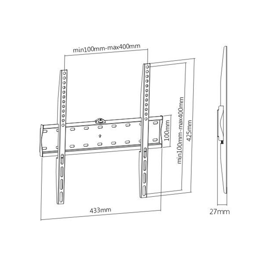 Кронштейн Brateck KL21G-44F для ТВ и мониторов, 32