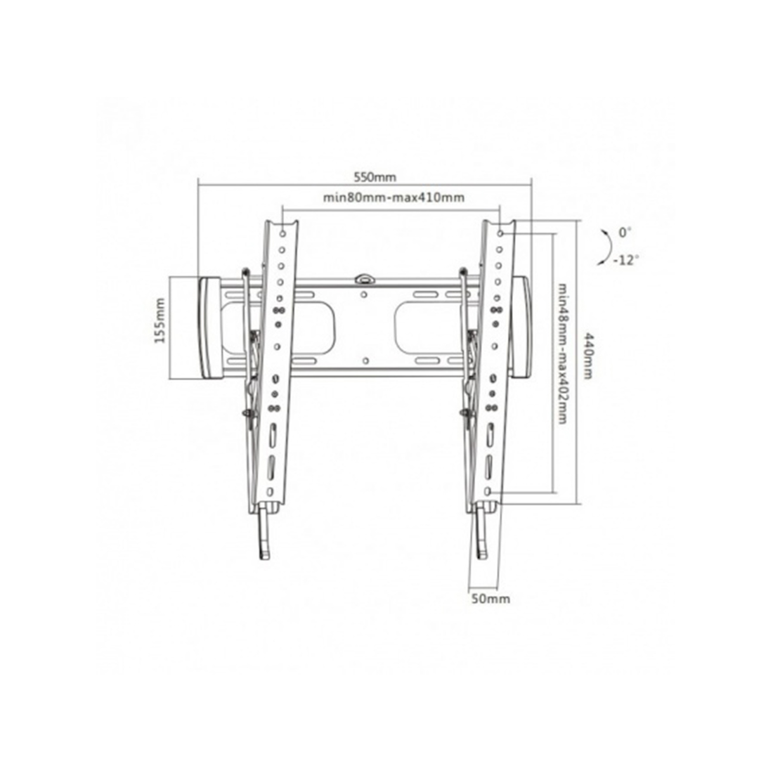 Кронштейн Brateck LP27-44T для ТВ и мониторов, 32