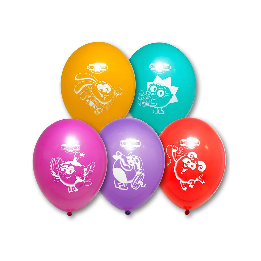 Воздушные шарики 1111-0221 (5 шт. в пакете)