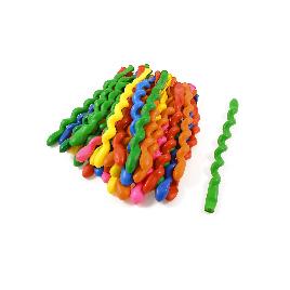 Воздушные шарики в форме спирали 1111-0363 10 шт. в упаковке
