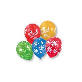 Воздушные шарики 1111-0111 5 шт. в упаковке