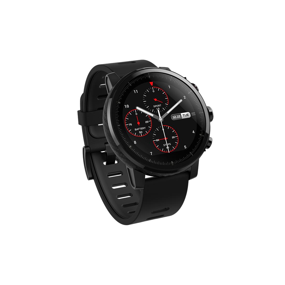 Смарт часы Amazfit Stratos Smart Sports Watch 2 Черный
