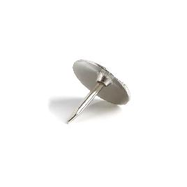 Кнопки канцелярские Comix B3537, 10 мм., 100 кнопок, металлические