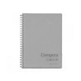 Блокнот B5 Comix CPB5801, 80 л., серый