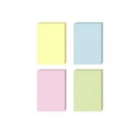Стикеры бумажные самоклеющиеся Comix D5001, 51х76 мм., 100 л., упак./12 шт. в ассортименте
