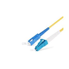 Патч Корд Оптоволоконный SC/UPC-LC/UPC MM OM2 50/125 Simplex 3.0мм 0,5 м