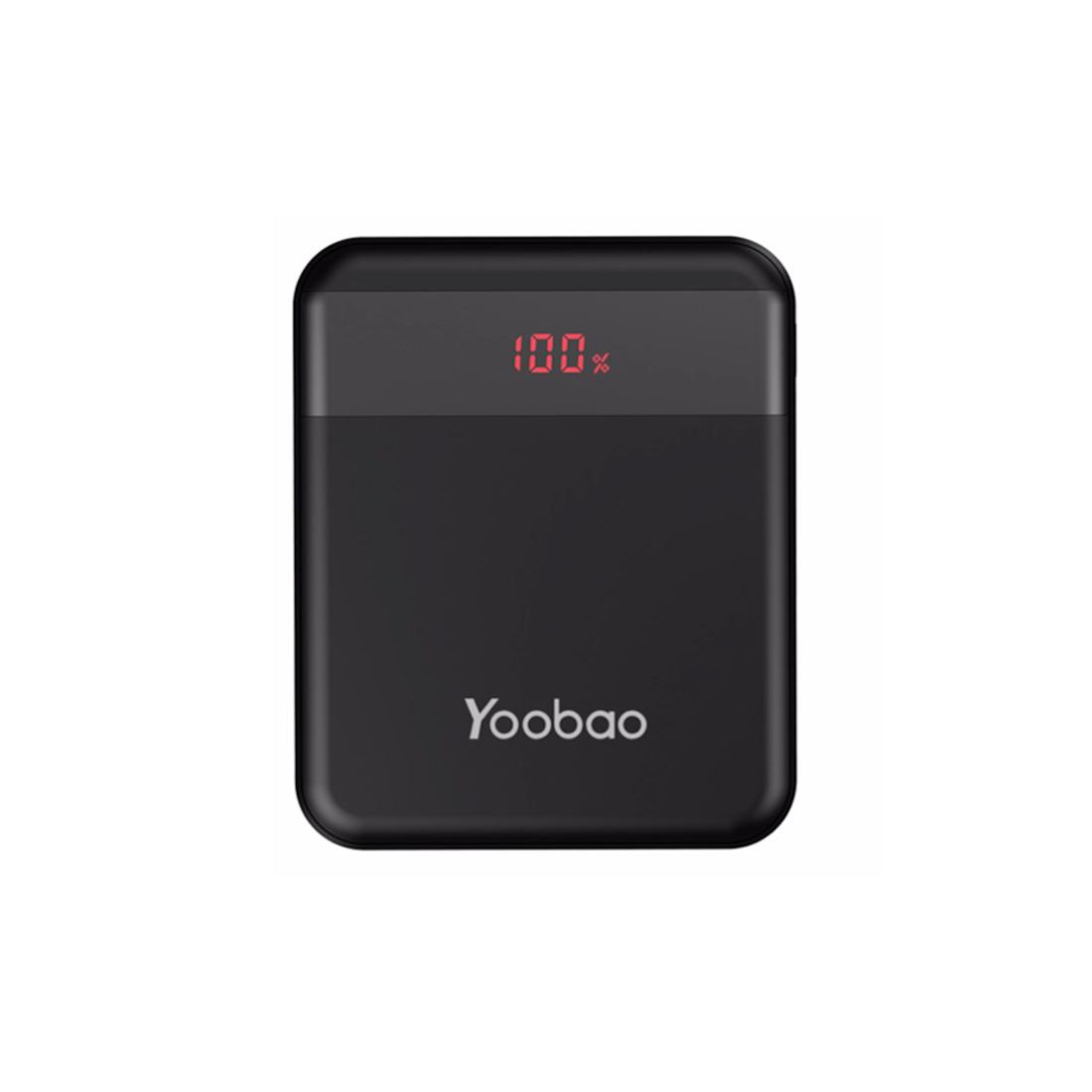Портативное зарядное устройство YOOBAO M4Q Чёрный