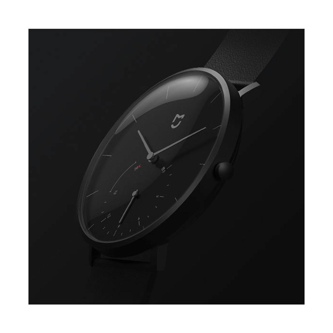 Кварцевые наручные часы Xiaomi Mijia Черный