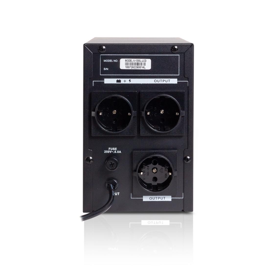 Источник бесперебойного питания SVC V-1200-L-LCD