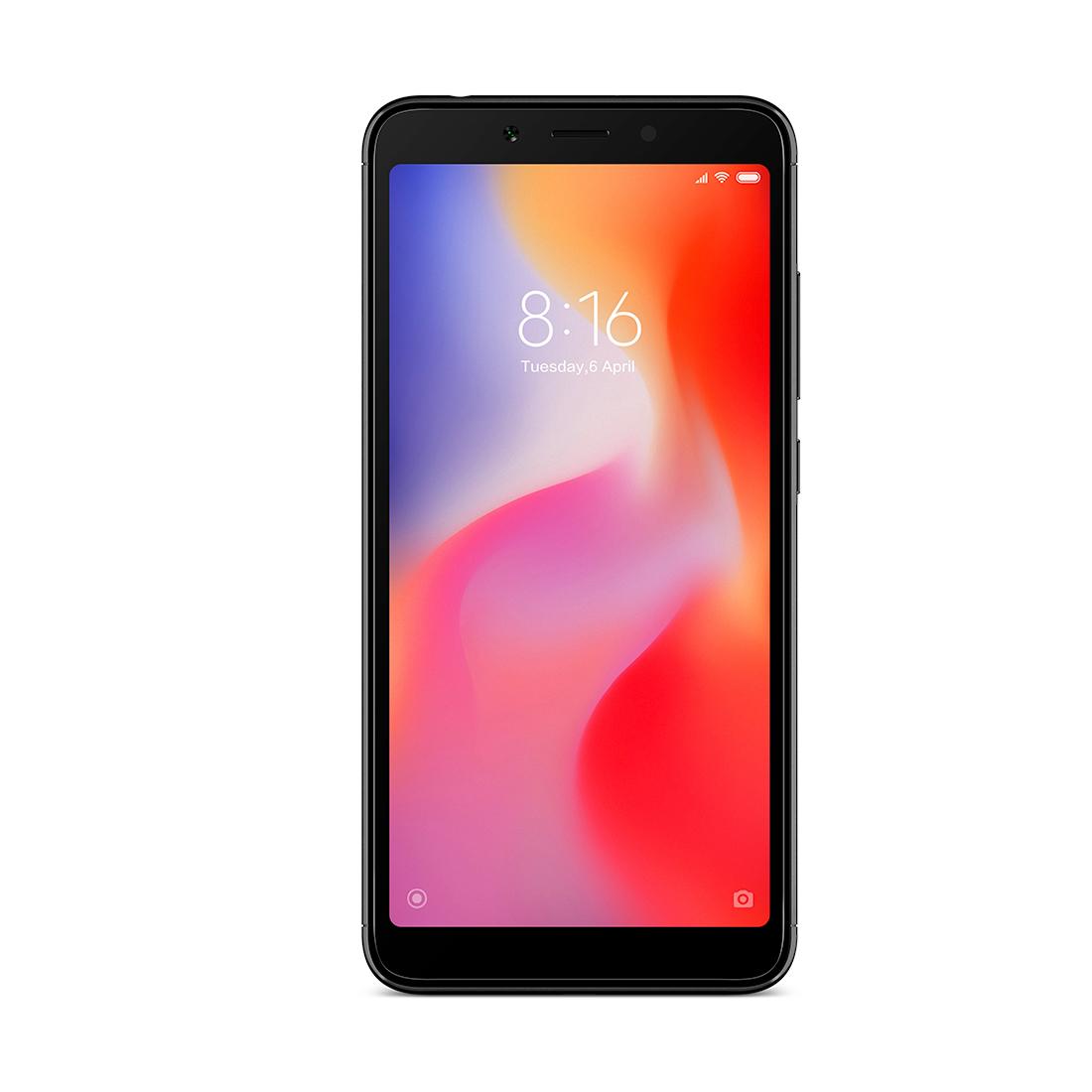 Мобильный телефон Xiaomi Redmi 6 4GB 64GB Черный