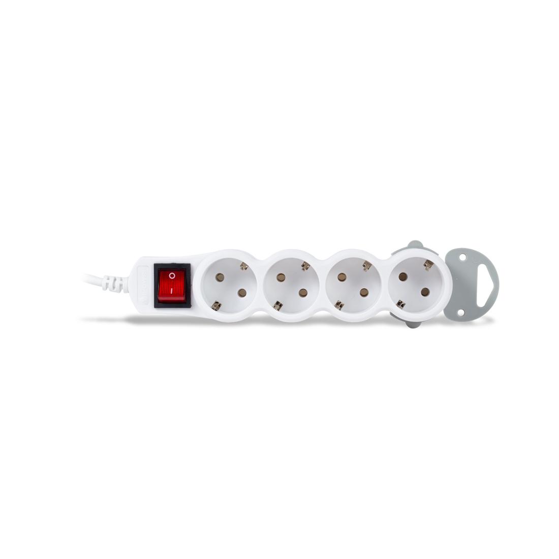 Сетевой фильтр iPower Home W4-18M 1.8 м. 220 в.