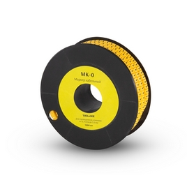 "Маркер кабельный Deluxe МК-0 (0,75-3,0 мм) символ ""0"""