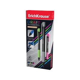Карандаш механический ErichKrause® Draft 2.0мм, НВ (упак./12 шт.)