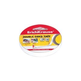 Двусторонняя клейкая лента ErichKrause®, 12ммх10м (в коробке-дисплее по 24 шт.)
