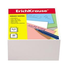 Бумага настольная ErichKrause®, 90x90x50 мм, пленка 24 шт., белый