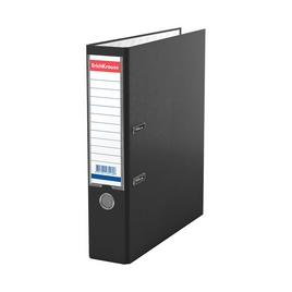 Папка–регистратор с арочным механизмом ErichKrause®, Granite, А4, 70 мм, черный