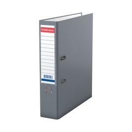 Папка–регистратор с арочным механизмом ErichKrause®, Granite, А4, 70 мм, серый