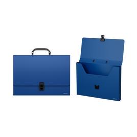 Портфель пластиковый ErichKrause® Classic, A4, синий