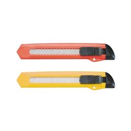 Нож канцелярский c механической фиксацией лезвия ErichKrause® Standard, 18мм (в пакете по 1 шт.)