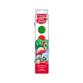 Краски акварельные ArtBerry® с УФ защитой яркости, коробка 6 цветов, ассорти