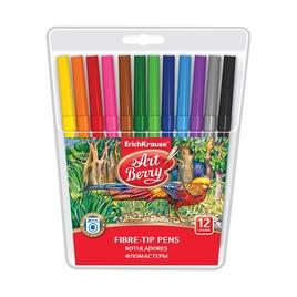 Коробка фломастеров ArtBerry® Super Washable, 12 цветов, ассорти
