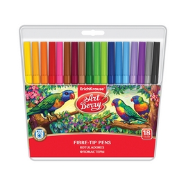 Коробка фломастеров ArtBerry® Super Washable, 18 цветов, ассорти