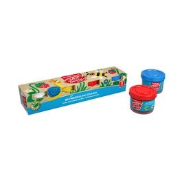 Биопластилин ArtBerry® с Алоэ Вера, коробка 4 баночки по 35г (рукав), ассорти