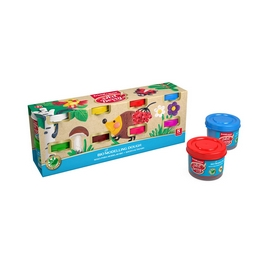 Биопластилин ArtBerry® с Алоэ Вера, коробка 8 баночек по 35г (рукав), ассорти