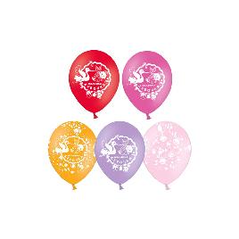 Воздушные шарики 1111-0351 (5 шт. в пакете)