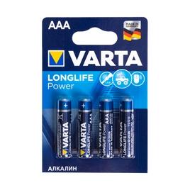 Батарейка VARTA Long Life Power Micro 1.5V - LR03/ AAA (4 шт) (4903) <4903-4>.
