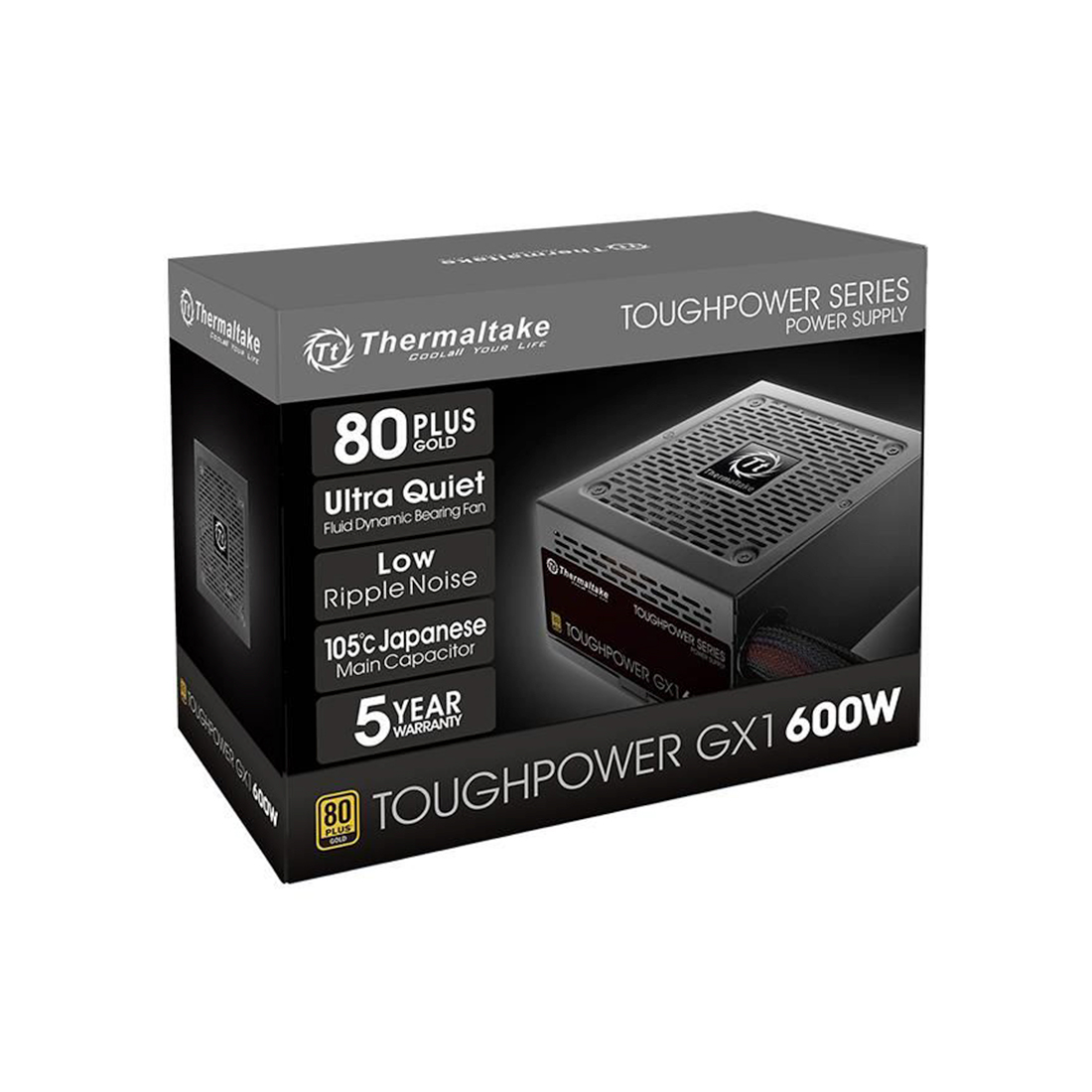 Блок питания Thermaltake Toughpower GX1 600W (Gold)