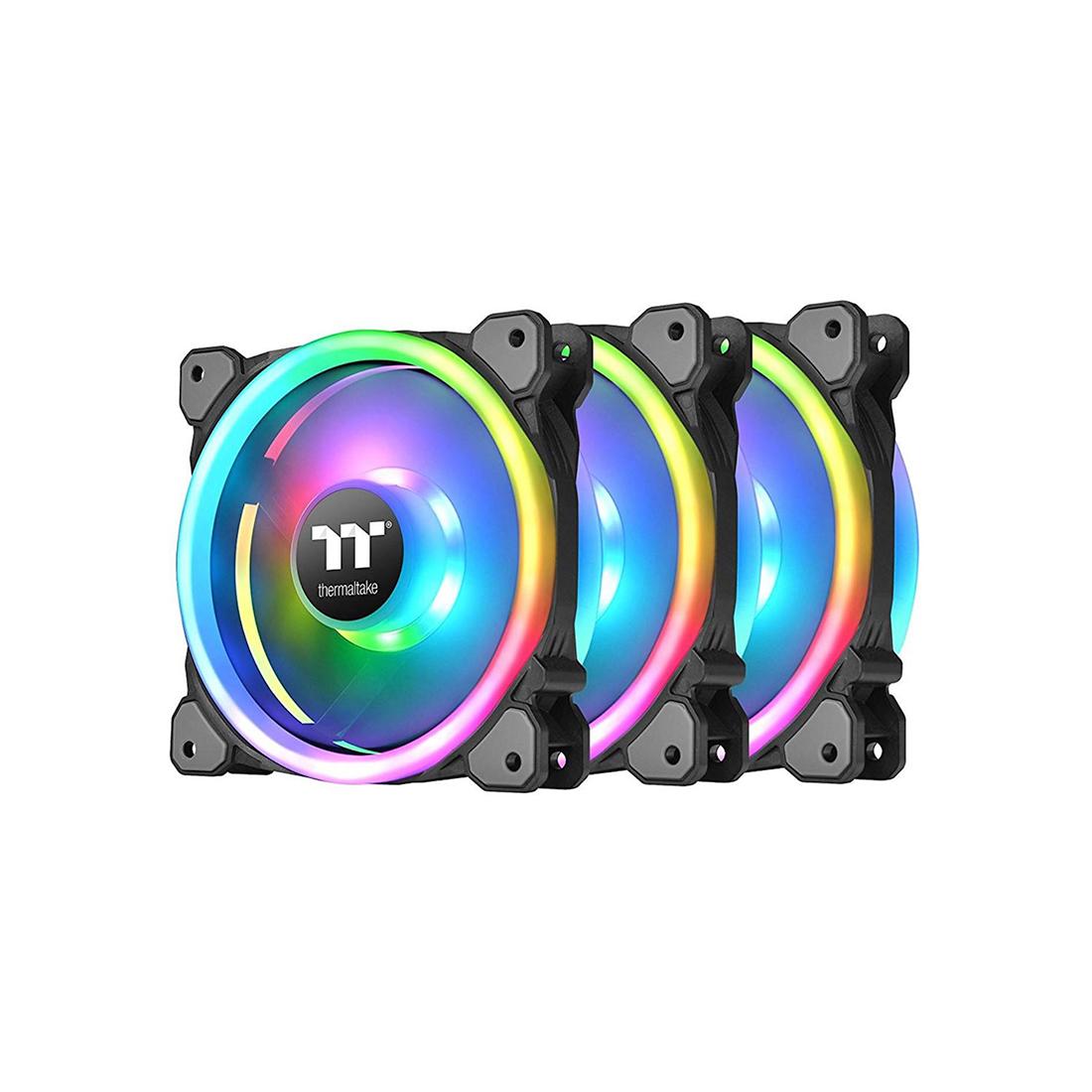Кулер для компьютерного корпуса Thermaltake Riing Trio 12 RGB TT Premium Edition (3-Fan Pack)