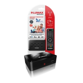 Цифровой телевизионный приемник LUMAX DV1102HD