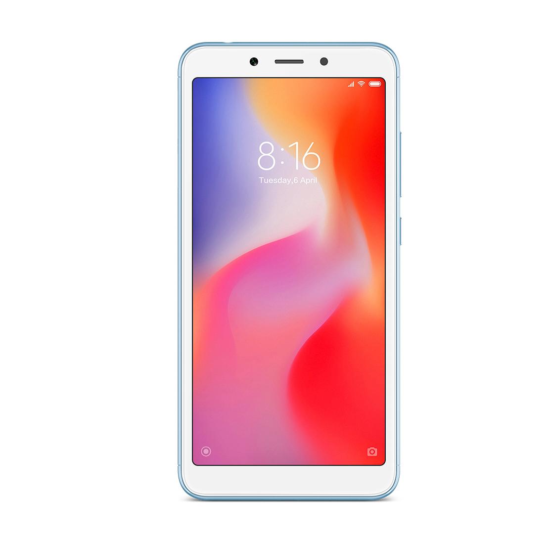 Мобильный телефон Xiaomi Redmi 6 3GB 64GB Синий
