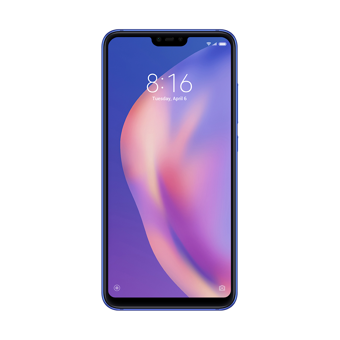 Мобильный телефон Xiaomi Mi 8 Lite 64GB Синий (Aurora Blue)