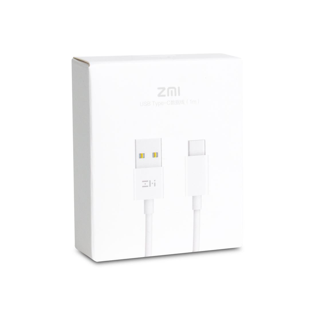 Интерфейсный кабель Xiaomi ZMI 100cm Type-C Белый